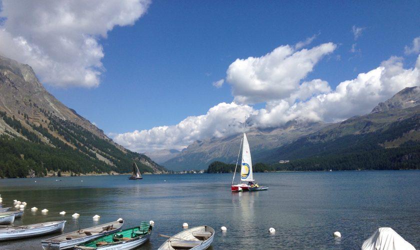 sailing silsersee